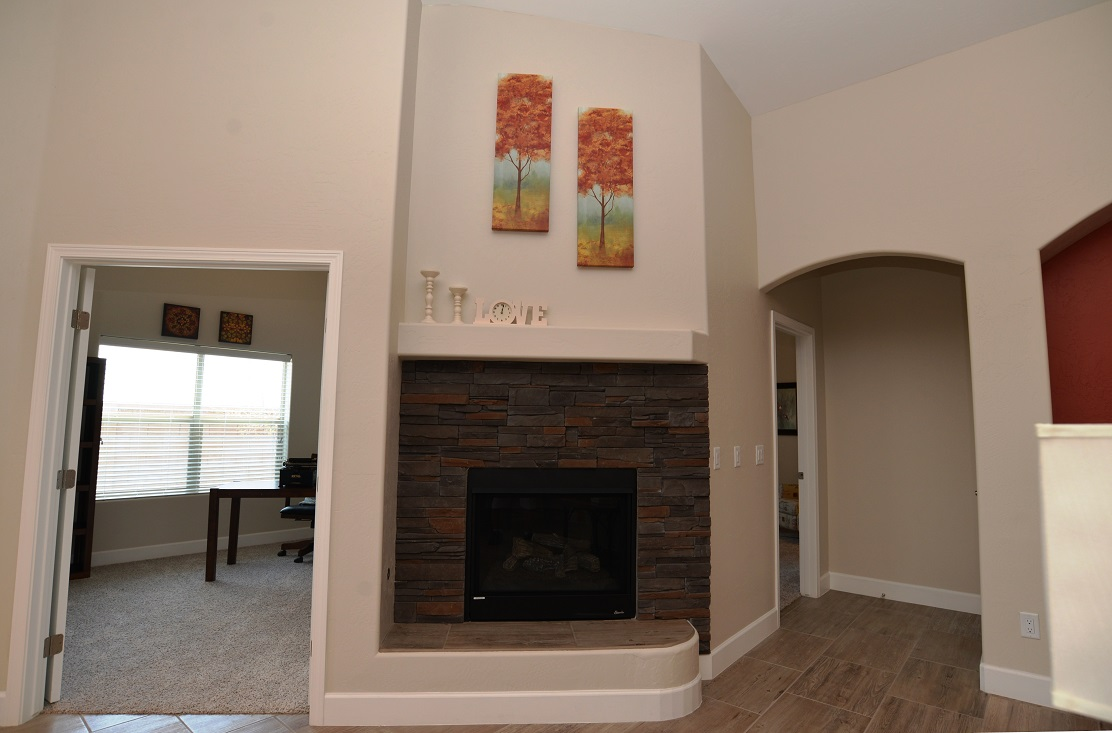 ABS Homes - Fireplace